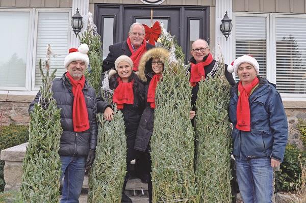 black forest and neighbourhood network give local families an evergreen christmas - An Evergreen Christmas